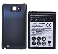 5000mah batterie rechargeable li-ion avec la couverture arrière pour Samsung Galaxy Note i9220 GT-N7000