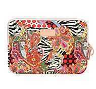 National Trend Big Red Flower Notebook Sleeve for  iPad 14 inch Laptop Bag