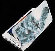 Para Funda Samsung Galaxy Flip / Diseños Funda Cuerpo Entero Funda Gato Cuero Sintético Samsung S2