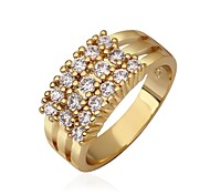 18 K Gold Plated Ring