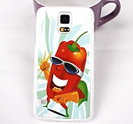 Lovely Sweet Pepper Pattern PC Back Case for Samsung Galaxy Note 4