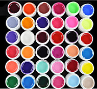 36PCS Mixs Pure Color UV Color Gel(8ml)