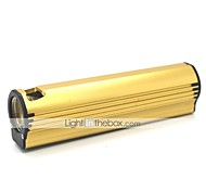 LT-XL884 Cigarrete Lighter 3 Mode 1xCree XML Q5 Mini Led Flashlight(500LM.Buil-in Battery.Golden)