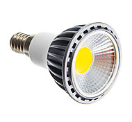 5W E14 / E26/E27 Focos LED COB 50-400 lm Blanco Cálido / Blanco Fresco Regulable AC 100-240 V