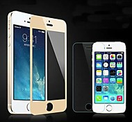 Color Mirror Surface Premium Shock Proof Tempered Glass Screen Protective Film for iPhone 5/5S/5C