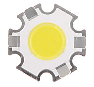 3W COB 280-320LM 6000-6500K Cool White Light LED Chip (9-11V,300uA)