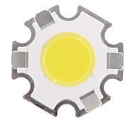 3W COB 280-320LM 6000-6500K fredda Chip LED a luce bianca (9-11V, 300 uA)