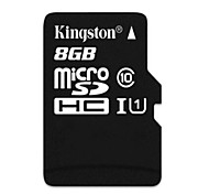 Kingston carte mémoire Micro SDHC tf - noir (8gb / classe 10)