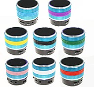 YX-S08 RGB USB Flash Drive Mini Bluetooth Speaker with Mic TF Port for Phone/Laptop/Tablet PC(Assorted Color)