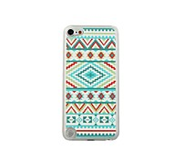 Colorful Design Leather Vein Pattern PC Hard Case for iPod touch 5