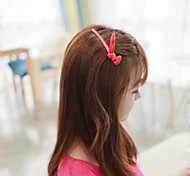 Chiffon Rabbit Ears Hairpins