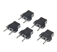 20112 6A 2-Round-Pin Plug Power Adapter