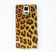 Case Retour PC beau modèle de léopard pour Samsung S5/I9600