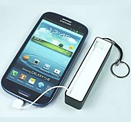 2600mAh External Battery Portable Power Banks for SamsungS3/S4/S5/HTC/LG/Sony
