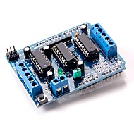 L293D Motor Drive Shield Expansion Board For Arduino Duemilanove Mega UNO R3 AVR ATMEL