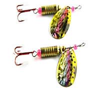 Vendita Hot New 10g metallo Spinner esche da pesca (15pcs)