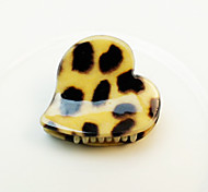 Mini Hairpin Hair Accessories In Leopard Print Pattern