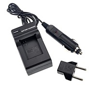 Battery Charger with Car Charger EU Plug Adapter for GoPro  Hero3 Batteries