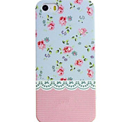 Glow in The Dark Lace Country Style Flower Painting Case for iPhone 5/5S(Assorted Colors)