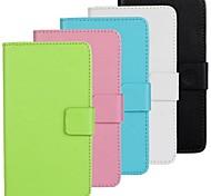 Modelo del color sólido estuche rígido con cierre magnético y ranura para tarjeta para Nokia Lumia 930 (colores surtidos)