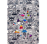 Special Cartoon Pattern PU Leather Full Body Case with Stand for iPad Air