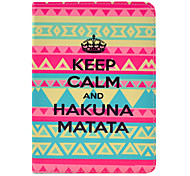 Hakuna Matata Tattoo Case for iPad mini 3, iPad mini 2, iPad mini