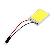 Festoon 3W COB 200ML Cool White Light LED Bulb for Car (DC 12V)