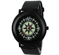 Women's Luminous Star PU Band Quartz Wrist Watch(Assorted Colors)