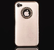 Aluminum Chrome Hard Diamond Hard Case for iPhone 4/4S (Assorted Colors)