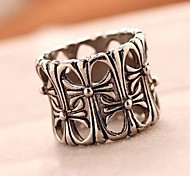 Z&X®  Fashion And Exquisite Crow Heart Cross Ring