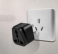 "Power Converter Socket Universial Tripod Plastic L1"" x W1"" x H2"""