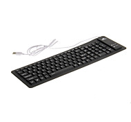 KN-103 Portable Waterproof Flexible Wired USB Keyboard