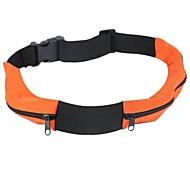 Außenlaufdoppelreißverschlusstasche 5,7 Zoll Handytasche (gelegentliche Farbe)