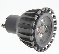 7W GU10 Lâmpadas de Foco de LED 3 LED de Alta Potência 500 lm Branco Frio AC 100-240 V