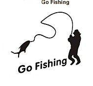 Outdoor Sports Fishing Car Sticker