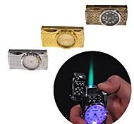 encendedores juguetes reloj de metal creativa (color al azar)