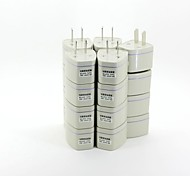 Universal US AC Travel Power Adapter Plugs (20/Pack)