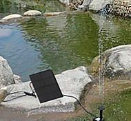 Solar Water Pump Cycle Pond Fountain Rockery Fountain