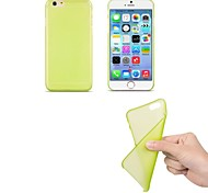 Ultra Thin Frosted Soft Case for iPhone 6(Assorted Color)