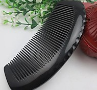 Natual Middle Size Length Around 13-15cm Black Horn Comb