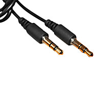 1M 3.28FT 3.5mm Male to Male PC Earphone Audio-control Cable Free Shipping