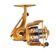 Gold  Fishing Reel  AF2000 5.5:1  Spinning Fishing Reels