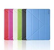 ENKAY Auto Sleep and Wake Up Designed Multi-folding Protective Case with Stand for iPad 2/3/4