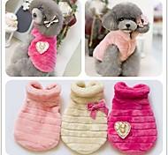 nobili cappotto peluche vestiti del cane a buon mercato vestiti dell'animale domestico di inverno vestiti di cotone xs