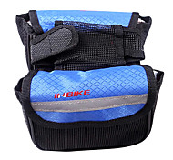 INBIKE Blue 420D Cycling Frame Bag Top Tube Bag