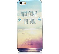 ecco che arriva il sole posteriore Case for iPhone 4 / 4s