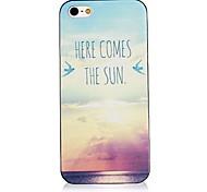 aquí viene el sol de nuevo caso para el iphone 4 / 4s