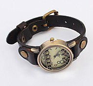 Women's Hot Popular Ethnic Style Leather Fashion Watch(Assorted Colors)