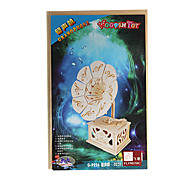 diy handgefertigten Holzphonographen Muster Spieluhr Spielzeug
