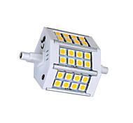 5W R7S LED Corn Lights T 24 SMD 5050 330lm lm Warm White / Cool White AC 85-265 V